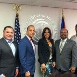 Procuradora se reúne con alcaldes para atajar la violencia de género