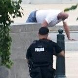 Logran atrapar al hombre que alegó tener bomba cerca del Capitolio federal