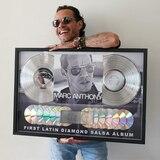 Marc Anthony recibe disco de diamante por su álbum 3.0