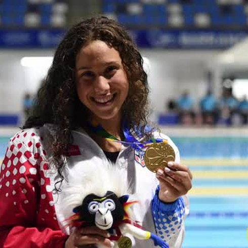 Kristen Romano trae otra medalla de oro para Puerto Rico