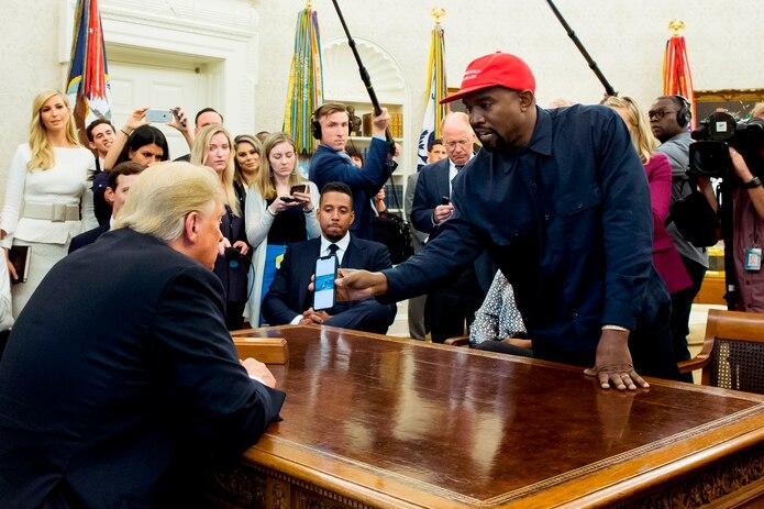En octubre de 2018, el rapero visitó al  presidente de los Estados Unidos, Donald Trump en el Despacho Oval de la Casa Blanca, en Washington DC, para conversar sobre la violencia y el sistema penitenciario del país.