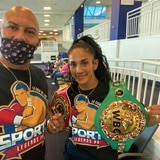 Amanda Serrano está cerca del peso para su pelea titular del domingo