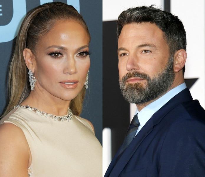 """Jennifer López y Ben Affleck se conocieron cuando filmaban """"Gigli"""" en 2003 y se comprometieron un año después."""