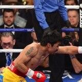 En imágenes, la pelea entre Mayweather-Pacquiao