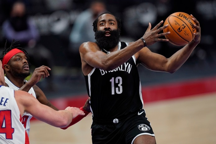 James Harden se unió a los Nets el año pasado, cuando fue adquirido en un cambio durante el periodo de canjes.