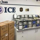 Incautan 62 libras de cocaína que fueron enviadas como rosas a aeropuerto de Aguadilla