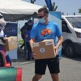 Cientos de familias reciben la ayuda de la JJ Barea Foundation