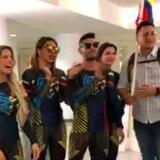 Llegan los Guerreros de Colombia