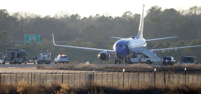 Ayer, dos aviones recibieron amenazas de bomba. (AP)