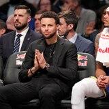 Stephen Curry todavía no está listo para volver a jugar