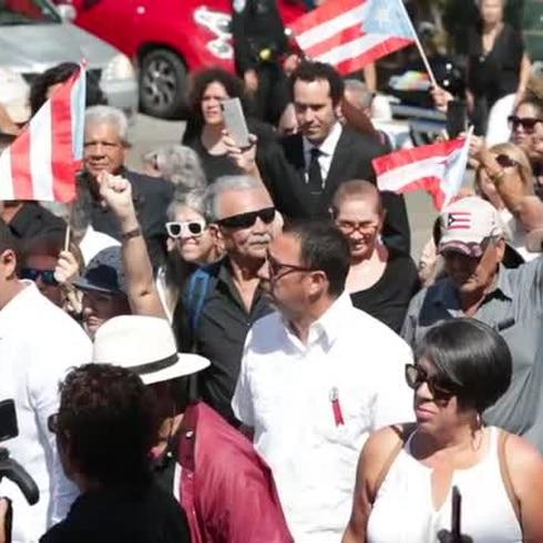 Emotiva despedida a Cancel Miranda en Mayagüez