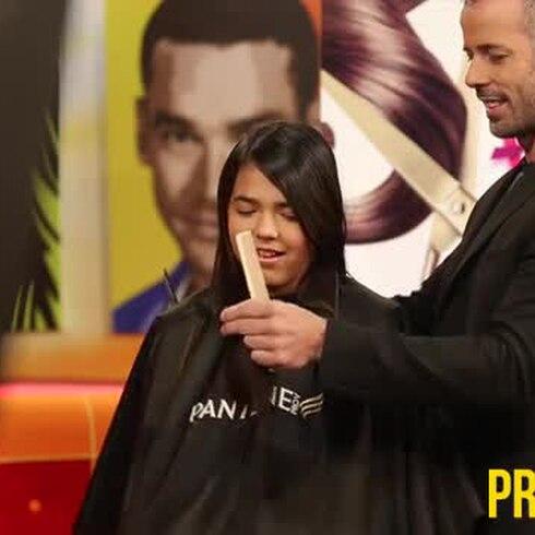 Adriana Díaz se recortó el cabello por una buena causa