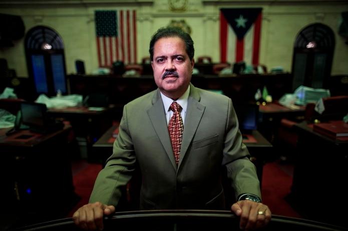 José Luis Dalmau, presidente del Senado.