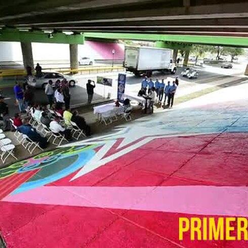 Inauguran mural de los Reyes Magos