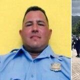 Emotivo homenaje al policía Erasmo García Torres
