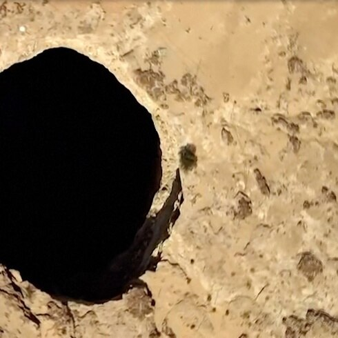 """Este es el misterioso """"pozo del infierno"""""""