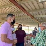 Senador popular se compromete con los ganaderos de leche en atender situación con ORIL