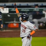 Jonrón de Machete Maldonado acerca a los Astros a la postemporada de Grandes Ligas