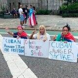 Activistas cubanas finalizan huelga de hambre frente a la ONU