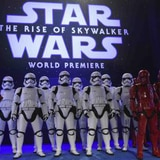 Ovación tras una premiere de Star Wars repleta de estrellas