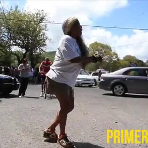 Fiesta en la calle Guadalupe en Ponce