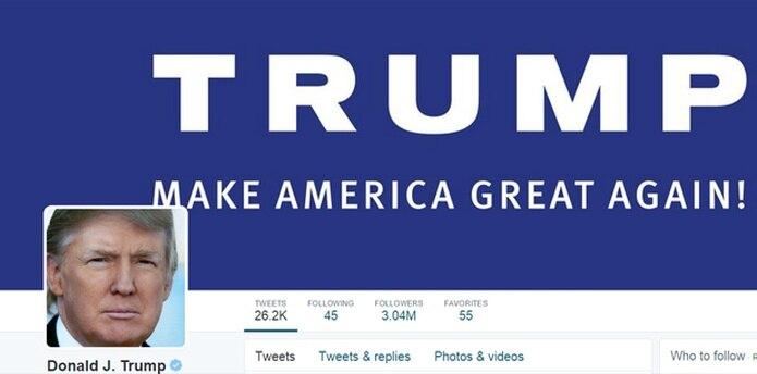 En sus mensajes en Twitter, Trump dijo que fue el gobierno de México quien obligó a Univision a tomar esa decisión. (Twitter)