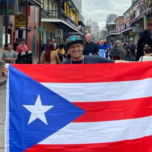Boricuas en la Luna: Juan López seduce con sabor criollo en Nueva Orleans