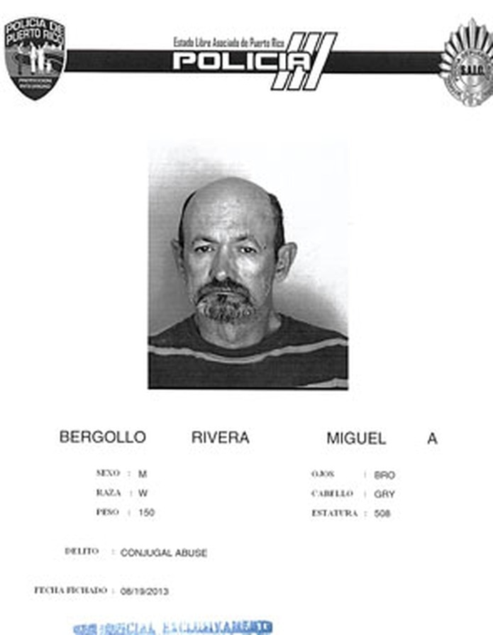 Miguel A. Bergollo Rivera, de 58 años, está detenido desde ayer, lunes, a eso de las 4:46 p.m. (Suministrada)