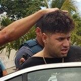 Imágenes del arresto de Rey Giovannie Oquendo Guevarez, alias Bin Laden