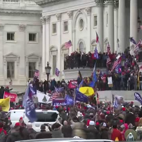 Congreso de Estados Unidos sigue en receso de emergencia por irrupción de manifestantes