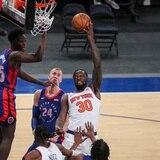 Los Knicks van a la pausa de la NBA con marca positiva