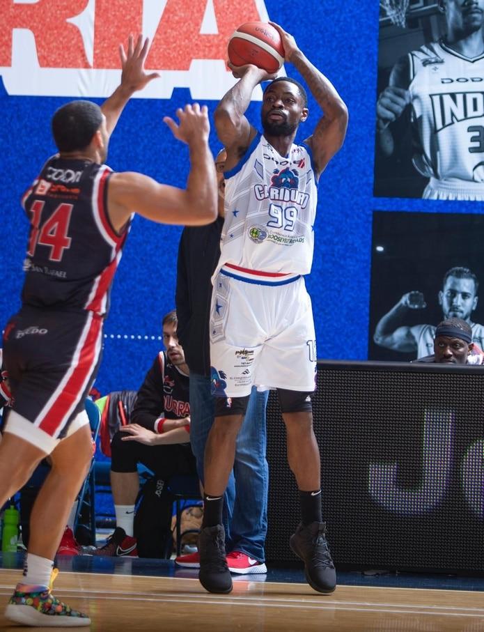 Terrico White promedió 21.6 puntos y 4.6 rebotes con los Cariduros de Fajardo en la pasada temporada del BSN.