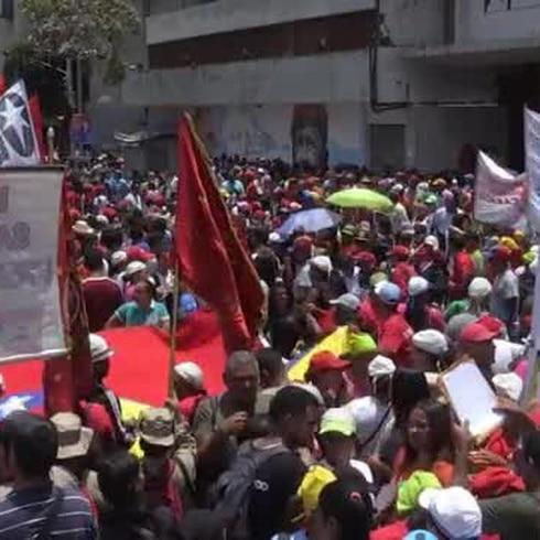 Respaldan a Nicolás Maduro tras un año de su cuestionada reelección
