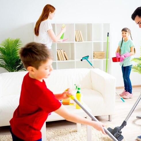 Cómo lograr que tus hijos ayuden en la casa