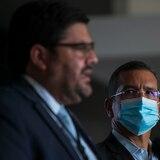 Pedro Pierluisi y Carlos Mellado atienden situación del COVID-19 en reunión