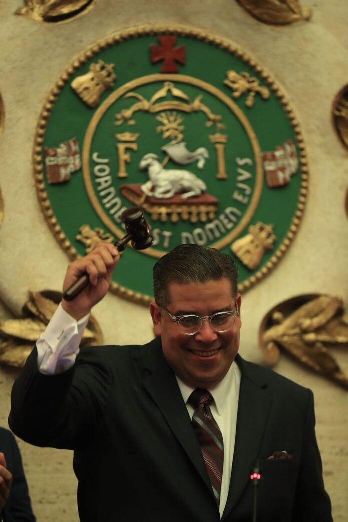 """El nuevo presidente de la Cámara de Representantes, Rafael """"Tatito"""" Hernández."""