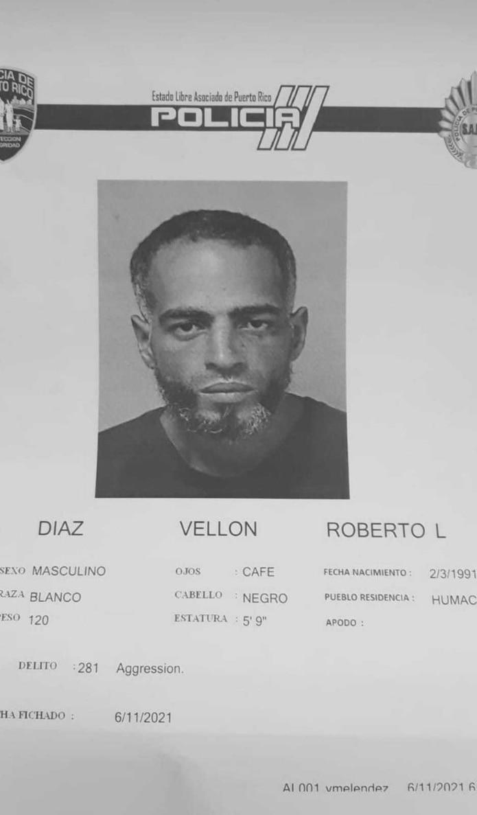 Roberto Luis Díaz Vellón.