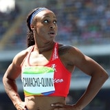 Jasmine Camacho-Quinn registra su mejor tiempo del año en 100 metros con vallas