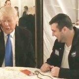 Donald Trump y su gesto solidario