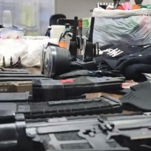 Policía allana residencia en Bayamón
