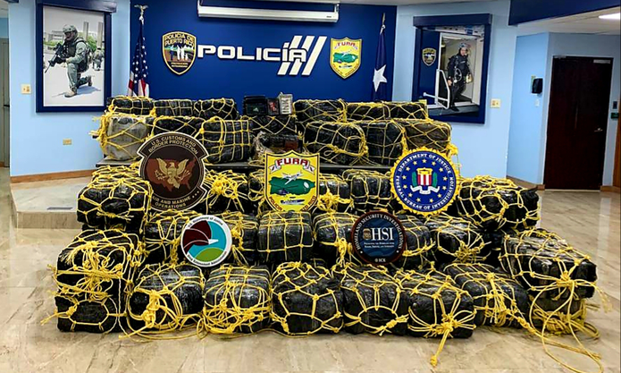 El Negociado de Fuerzas Unidas de Rápida Acción ocupó un cargamento de cocaína valorado en $50 millones en el interior de una lancha en la costa de Yabucoa.