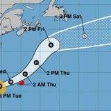 Humberto se convierte en huracán categoría 3 y podría afectar a Bermudas