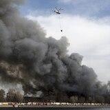Vídeo del fuego que arruinó histórica fábrica de Rusia