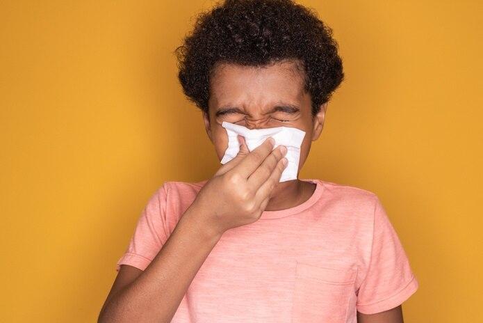 La alergia se puede presentar con un episodio de asma, aunque el asma se produce por una alergia.
