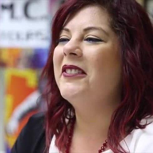 Mujer maravilla: Merylee Suazo