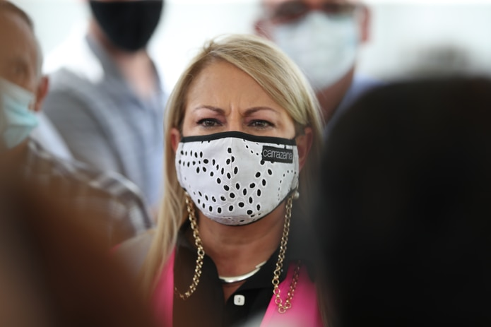 La gobernadora Wanda Vázquez insistió en que quienes ocuparon la Fortaleza antes que ella debían responder por la desaparición de esos artículos.