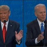 Trump y Biden intercambian ataques en último debate