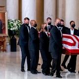 Comienzan los servicios fúnebres por la jueza Ruth Bader Ginsburg