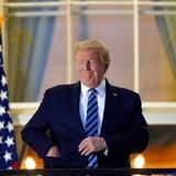 """Trump lleva """"más de 24 horas"""" sin síntomas de COVID-19"""