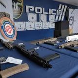 Decenas de armas ocupadas durante operativo por trasiego ilegal en Puerto Rico